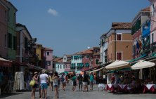 Main Street Burano-Venice Day 3