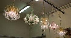 Murano Glass Chandaliers - Venice Day 4