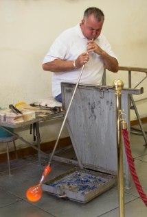 Murano Glass Demonstration2 - Venice Day 4