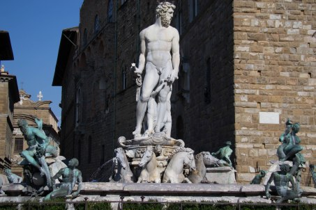 Neptune Fountain Town Hall Florence