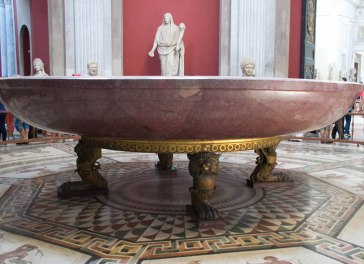 Nero's Bathtub-Vatican Museum-Rome Day 2