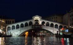 Rialto Bridge from Gondola - Venice Day 4