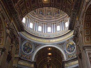 St. Peter's Basilica-Rome Day 2