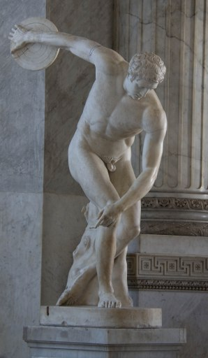 The Discus Thrower-Vatican Museum-Rome Day 2