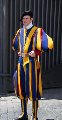 Vatican Swiss Guard-Rome Day 2