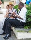 French Quarter Street Clarinetist