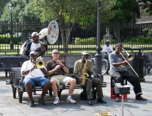 Jackson Square Musicians with Jeff