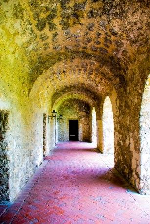 Mission Concepcion Convent Hallway