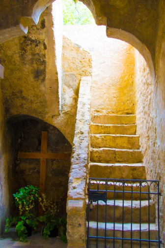 Mission Concepcion Stairway
