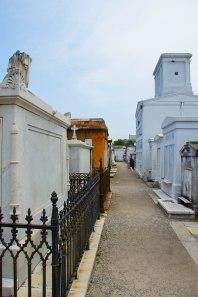 St. Louis Cemetery 1 - Street