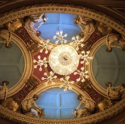 Ceiling of Queen Theater