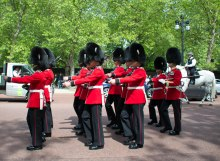 Changing of the Guards - Buckingham