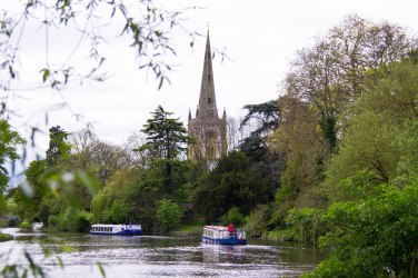 Holy Trinity Church on the Avon River