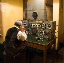 Radio Operator in Churchill War Rooms