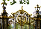 Gate near Buckingham Palace