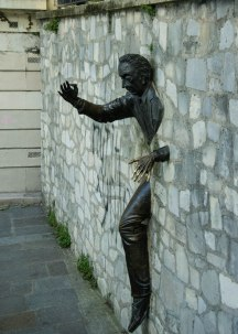 Man in the Wall - Montmartre