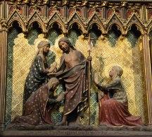 Notre Dame Biblical Carving