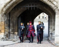 Opening Ceremony - The Tower - with Gurka Guard from Nepal