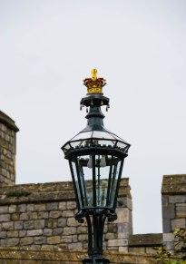 Royal Lamppost - WIndsor Castle