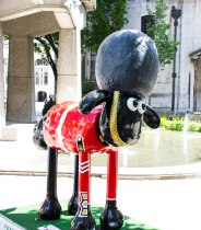 Beefeater Sheep Statue